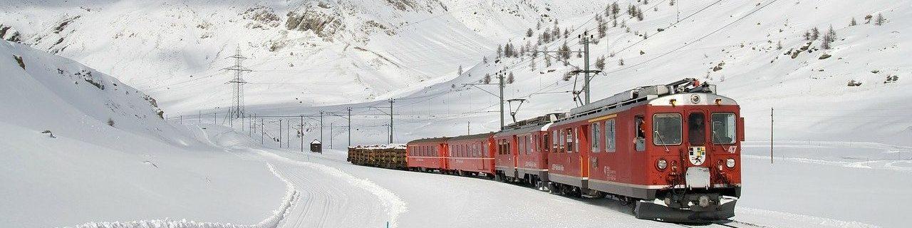 Il trenino del Bernina – Magia d'Inverno