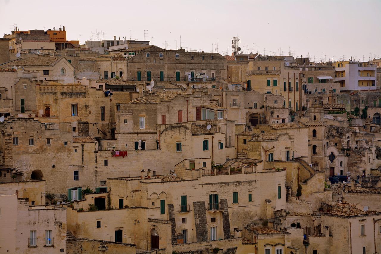 Basilicata – Venosa, Matera, Miglionico, Montescaglioso e Melfi